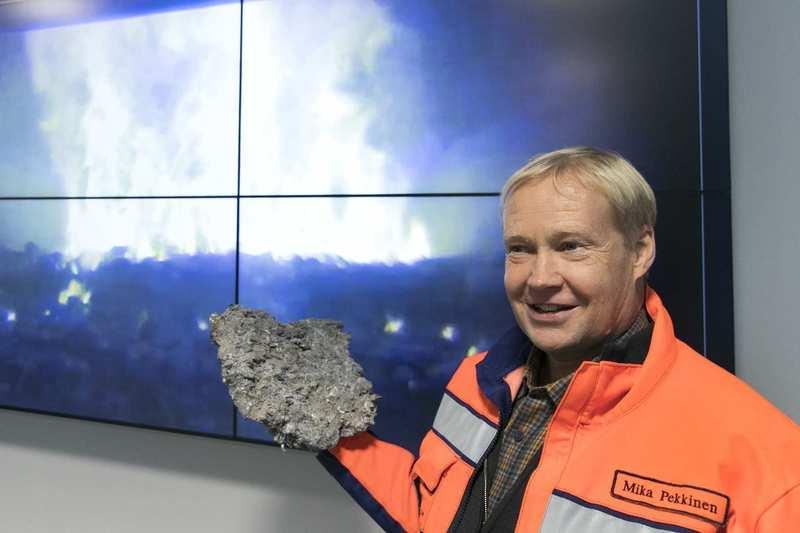 Мика Пеккинен, исполнительный директор завода. Фото – aamulehti.fi
