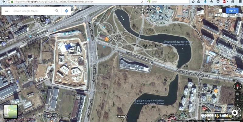 Снимок на googlemaps 11 июля 2017 года