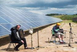 Как «Port Mone» записывало музыку от солнца