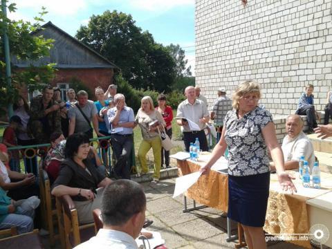 «Памажыце, як Бога прашу!»: жители Пуховичского района саботируют производство по обезвреживанию ртутных ламп