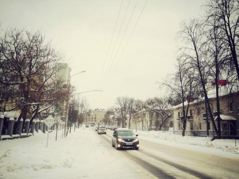 Как снег показывает плохую используемость общественных пространств