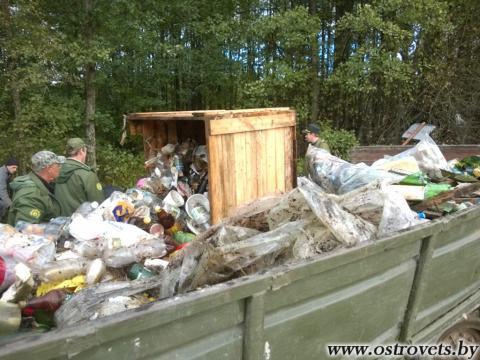 Сорочанские озера: Мусорят все - убирают дети
