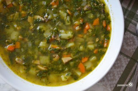 VeganFood: Да абеду — смачны і просты шпінатны суп