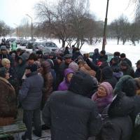 Фотофакт: гомельчане вышли на стихийный митинг против уплотнительной коммерческой застройки