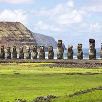 Статуям на острове Пасхи угрожает изменение климата