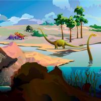 Альтернативная реальность: Как выглядит Земля, когда все вокруг веганы