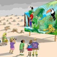 Казнь лампочки и ещё 9 экологических плакатов (фото)