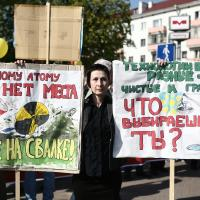Я хачу гаварыць: вулічныя плакаты на Чарнобыльскім шляху за 20 год