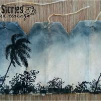 Художник из Бангладеш рисует пейзажи своей родины на использованных чайных пакетиках