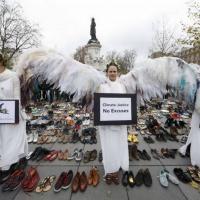 Глобальный климатический марш: 2300 акций по всему миру и потасовка с полицией в центре Парижа (ФОТО)