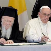 Папа Францішак і Барталамей І скіравалі сумеснае пасланне за экалагічнае павяртанне