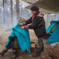 Карельские «партизаны» отстояли Сунский бор: борьба шла 9 месяцев