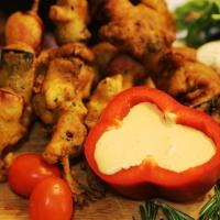 К рождественскому столу — «шашлык» для вегетарианцев