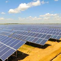 Солнечная электростанция вместо бывшего аэродрома