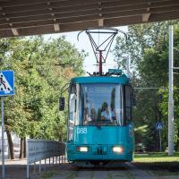 Ці паедзе трамвай на Кастрычніцкую і ў Ждановічы?