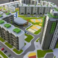В новом экорайоне Минска жильцы дома смогут принимать гостей на крыше