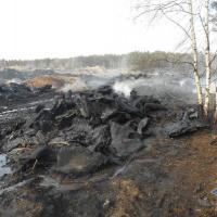 За последние сутки в Беларуси произошло два возгорания на полигонах с покрышками