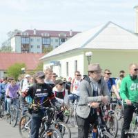 В Пинске прошёл веломарафон, посвящённый здоровому образу жизни