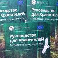 В помощь природоохранникам: вышло руководство для Хранителей Территорий, важных для птиц