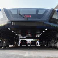 Технологии будущего: автобус-портал тестируют в Китае
