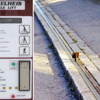 У Нарвегіі функцыянуе спецыяльны эскалатар для веласіпедыстаў