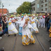 «Неужели это Минск?!»: бразильский карнавал и самое большое в мире граффити на фестивале «Vulica Brasil»
