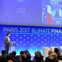 В Париже проходит однодневный климатический саммит