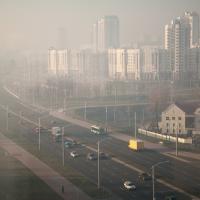 Минск накрыл смог на несколько дней