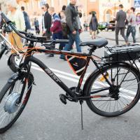 Нанотехнологии уже в велосипедах.«Оптрон» представил мотор-колесо и нацелился на супер-конденсатор