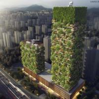 Архитектор придумал «вертикальный лес», который поможет спасти города от смога