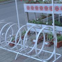 Нет жизни без авто? 22 сентября многие велопарковки в Гомеле пустовали