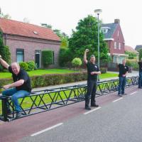 Энтузиасты из Голландии создали самый длинный велосипед в мире (видео)