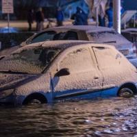 Север Германии накрыли ливневые дожди и ураган «Аксель»