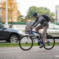 Количество велосипедов и автомобилей в Минске практически сравнялось