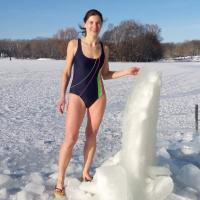 Анастасия Воверис: «Каждое купание зимой – как в первый раз»