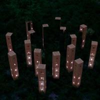 «Я хотела, чтобы экологичность проекта подчёркивалась визуально». Инсталляция «Зорачкі» была признана лучшей на Полоцком фестивале света