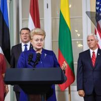 Грибаускайте снова заявила о БелАЭС как о «неконвенциональном оружии Кремля»