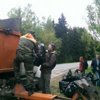 Участница акции «Сделаем!»: «За полтора часа мы вывезли больше тонны мусора! И это только с одного пляжа на Минском море!»