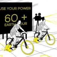 В «Час Земли» «Velcom» пересадит минчан на электровелосипеды вырабатывать энергию