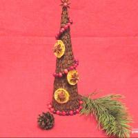 Экомастерская: Как сделать новогоднюю ёлку своими руками