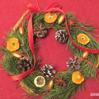 Экомастерская: Новогодний декор и рождественский венок своими руками