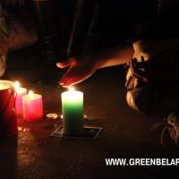 """В """"Час Земли"""" Беларусь в шестой раз погрузилась в темноту"""
