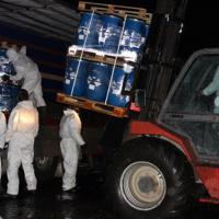 Пестициды из-под Слонима вывезены, захоронение ликвидировано