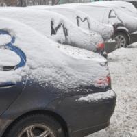 Прогревание машины в морозы - вред природе