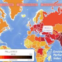 Гомель и Жлобин попали на мировую карту самых загрязнённых городов