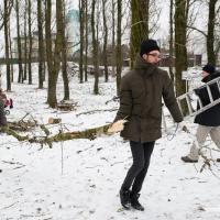 Фоторепортаж: В Котовке устроили зимний праздник