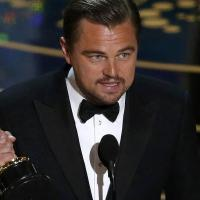 С «Оскаром» в руках Леонардо Ди Каприо говорил об изменении климата