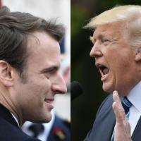 Макрон vs Трамп: французский президент намерен защитить Парижское климатическое соглашение