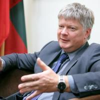 «Вы строите АЭС, мы «роем окопы». Интервью TUT.BY с министром природы Литвы