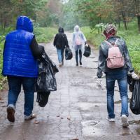 Сколько мусора можно убрать после «Зеленстроя»? Уборка «Зробім!» в парке 50-летия октября